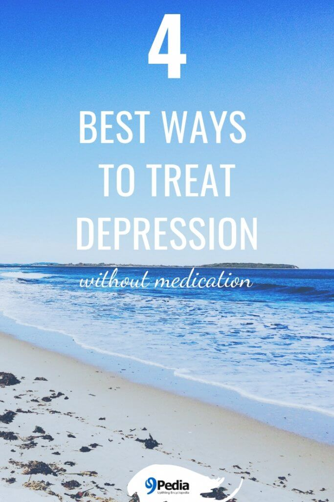 Depression can be treated in 4 simple ways #beatdepression #treatdepression