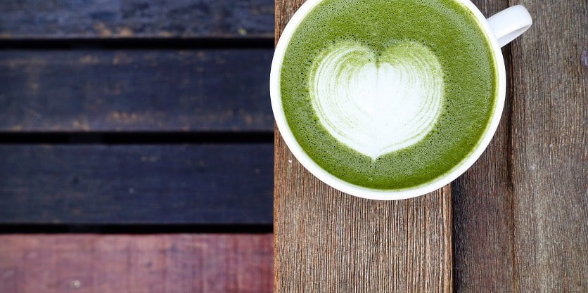 Matcha is a popular drink in Japan
